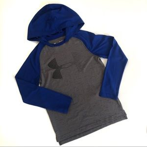 NWOT Under Armour Boys Youth Hoodie T-shirt Sports